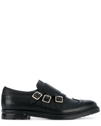 Alexander McQueen Three Strap Monk Shoes