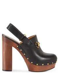 Gucci Amstel Leather Clog