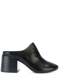 MM6 MAISON MARGIELA Block Heel Closed Toe Mules