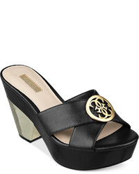 GUESS Camarra Platform Slide Sandals