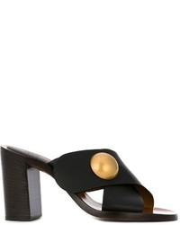 Chloé Pearl Detail Mules