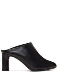 Clergerie Black Eolo Mules