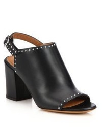 Givenchy Elegant Leather Mules