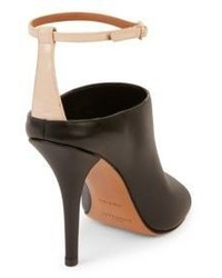 Givenchy Leather Ankle Strap Mules