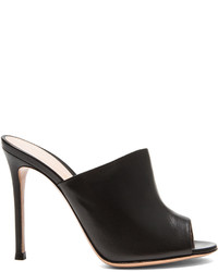 Gianvito Rossi Leather Mule Heels