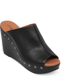 Lucky Brand Malayah Platform Wedge Slide Sandals