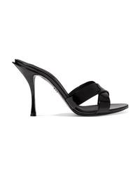 Dolce & Gabbana Patent Leather Mules