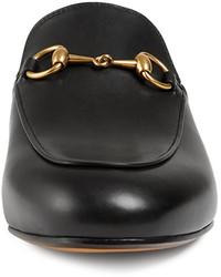 9db2a4b9a Gucci Princetown Leather Horsebit Mule Slipper Flat, $695 | Neiman ...