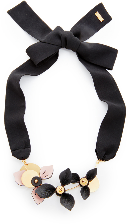 marni tradesy i multicolored necklace
