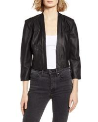 LaMarque Letsey Leather Moto Jacket