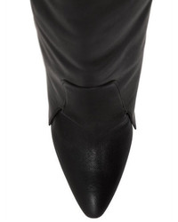 Givenchy 125mm Newton Leather Over The Knee Boots
