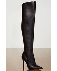 BCBGMAXAZRIA Abella High Heel Over The Knee Leather Boots