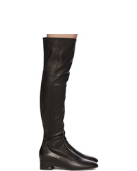 Gucci Black Nappa Claus Over The Knee Boots