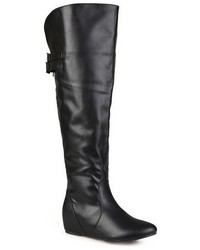 Journee Collection Faux Leather Boots