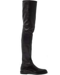 Valentino Garavani The Leather Thigh Boots