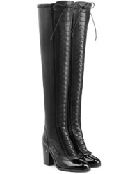e05f101fd63 Laurence Dacade Madison Patent Over The Knee Boot Black Out of stock · Laurence  Dacade Idylle Over The Knee Leather Boots