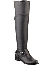 GUESS Igal Leather Over The Knee Boots