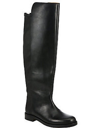 Maison Margiela Leather Over The Knee Boots
