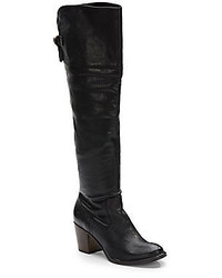 Frye Lucinda Slouch Over The Knee Leather Boots