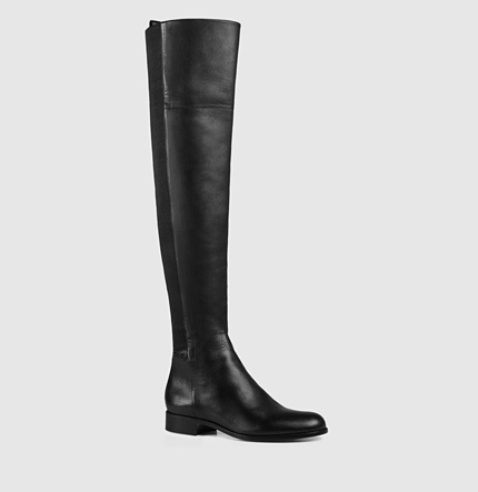 df8fb66526b $1,695, Gucci Maud Leather Over The Knee Boot
