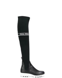 Miu Miu Over The Knee Sock Boots