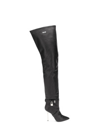 MSGM Padlock Over The Knee Boots
