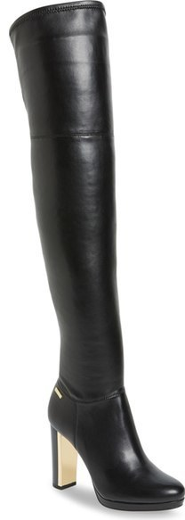 41182077a71 ... Boots Calvin Klein Polomia Platform Over The Knee Boot ...