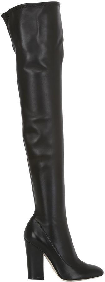Sergio Rossi 105mm Virginia Stretch Leather Boots | Where to buy