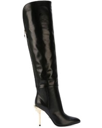 Versace Over The Knee Length Boots
