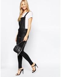 Vero Moda Faux Leather Overall