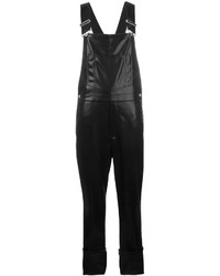 Givenchy Leather Dungarees