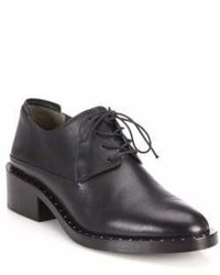 3.1 Phillip Lim Alexa Leather Block Heel Oxfords