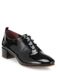 Marc Jacobs Betty Patent Leather Lace Up Oxfords