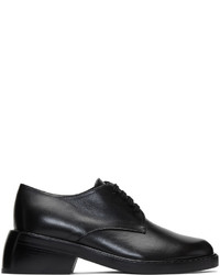Ann Demeulemeester Black Leather Oxfords