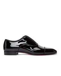 Christian Louboutin Black Patent Alpha Male Loafers