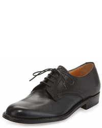 Gravati Calf Leather Lace Up Oxford Black
