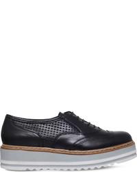 Carvela Lasting Leather Flatform Oxford Shoes