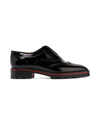 Christian Louboutin Charletta Patent Leather Brogues