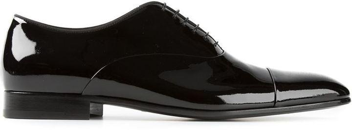 Oxford shoes - Black Giorgio Armani m8HzVJsn