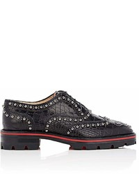 Christian Louboutin Crapadonna Leather Oxfords