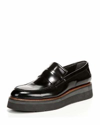 Vince Dorsey Creeper Loafer Black