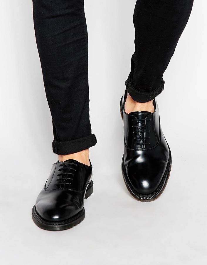 Dr Martens Henley Chaussures Oxford - Noir TSguuUh