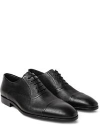 Hugo Boss Eveprim Cross Grain Leather Oxford Shoes