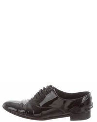 Christian Louboutin Fred Patent Leather Oxfords