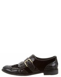 Dolce & Gabbana Leather Brogue Oxfords