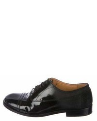 Maison Margiela Maison Martin Margiela Patent Leather Round Toe Oxfords