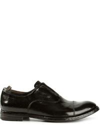 Officine Creative Anatomia Laceless Oxford Shoes