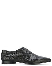 Saint Laurent Textured Oxford Shoes