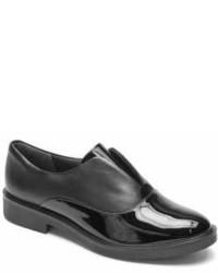 Rockport Total Motion Abelle Slip On Patent Leather Oxfords