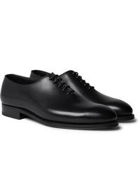 J.M. Weston Whole Cut Leather Oxford Shoes